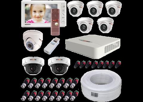 Комплект видеонаблюдения NOVIcam для дома / коттеджа