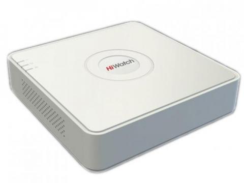HiWatch DS-H204QA 4 канальный CVI, TVI, AHD, IP видеорегистратор